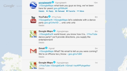 Google on Twitter is adorable